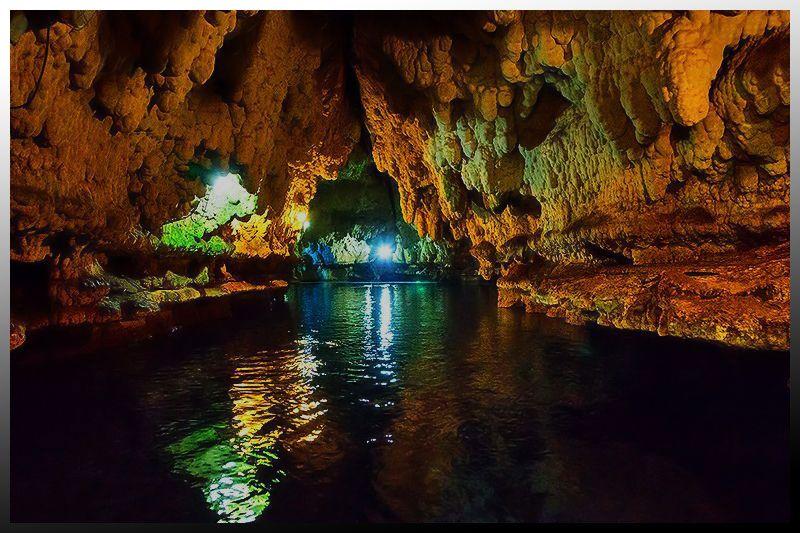 درون غار سهولان