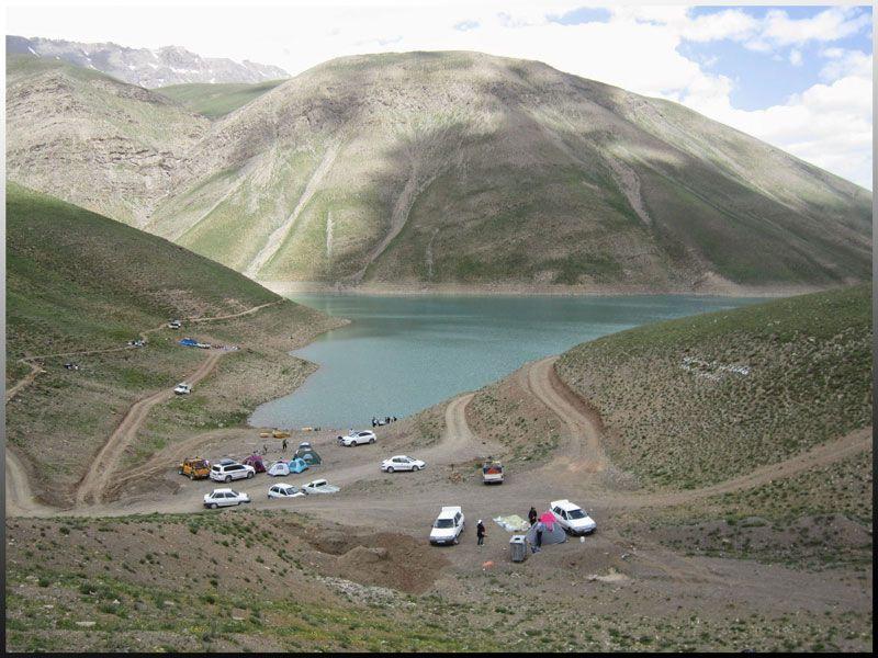 دریاچه تار دماوند استان تهران