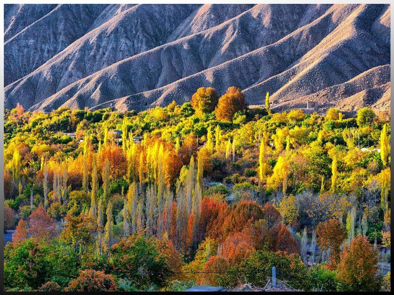 طبیعت زیبای روستای سیرچ