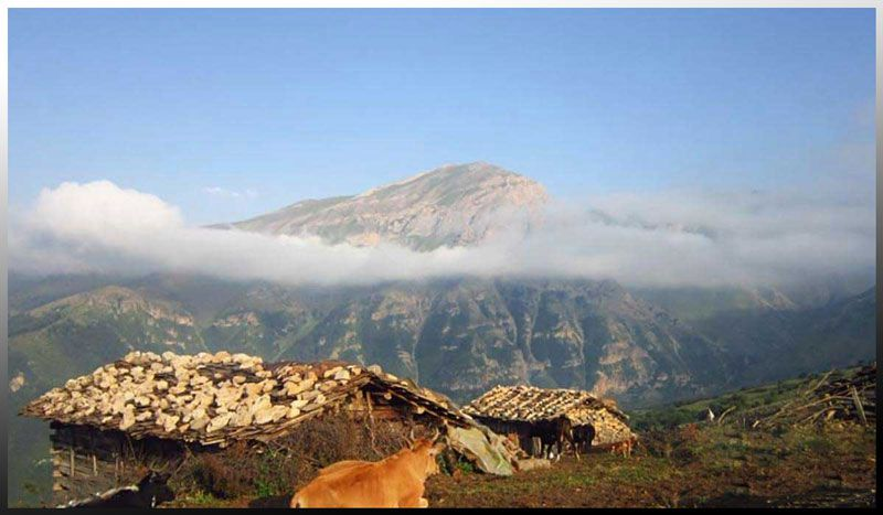 طبیعت زیبای روستای مازیچال