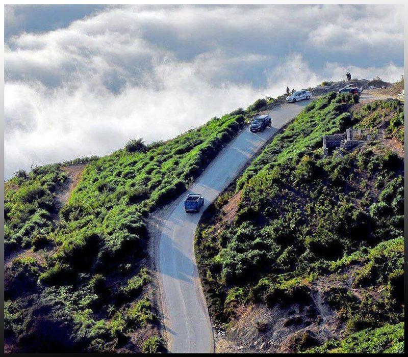 مسیر روستای فیلبند